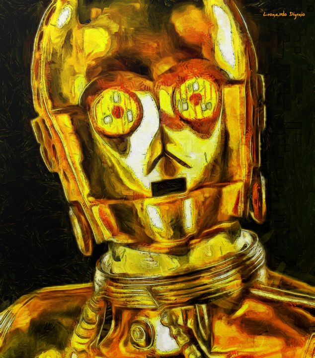 Star Wars C3po Droid Surprise - Leonardo Digenio