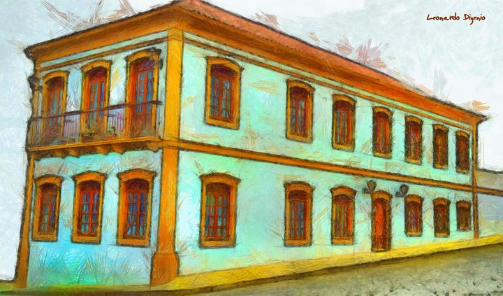 Old Style Building B - Leonardo Digenio