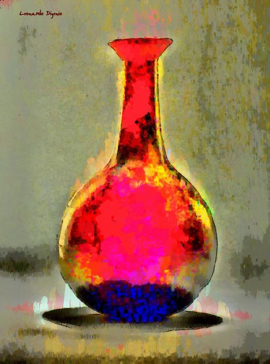 Ancient Bottle Red - Leonardo Digenio