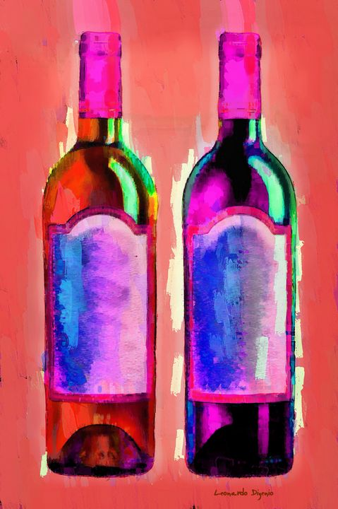 Red And White Wine Red - Leonardo Digenio