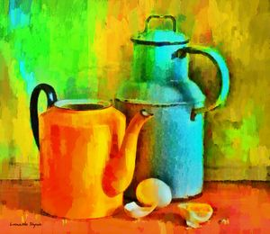 Eggs And Tea