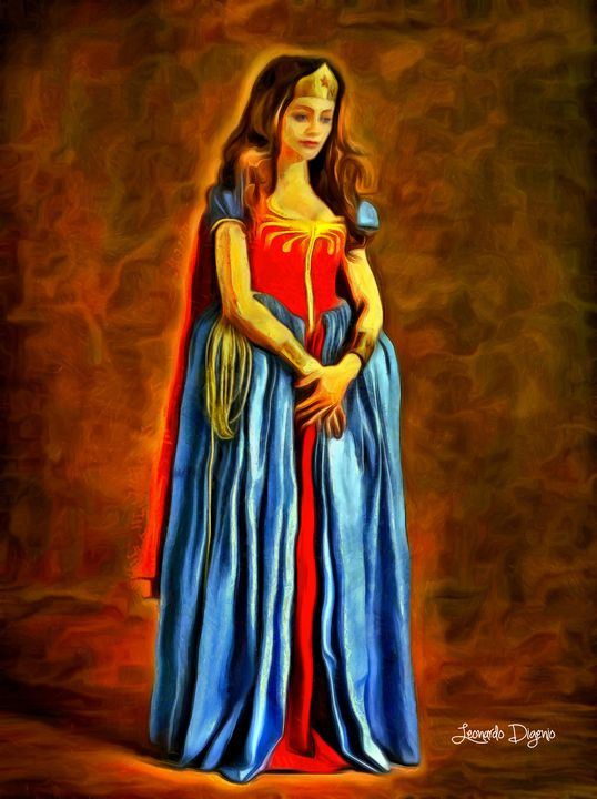Middle Ages Wonder Woman - Leonardo Digenio