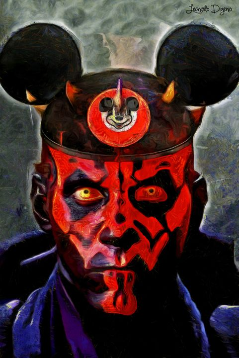 Star Wars Darth Maul Mouse - Leonardo Digenio