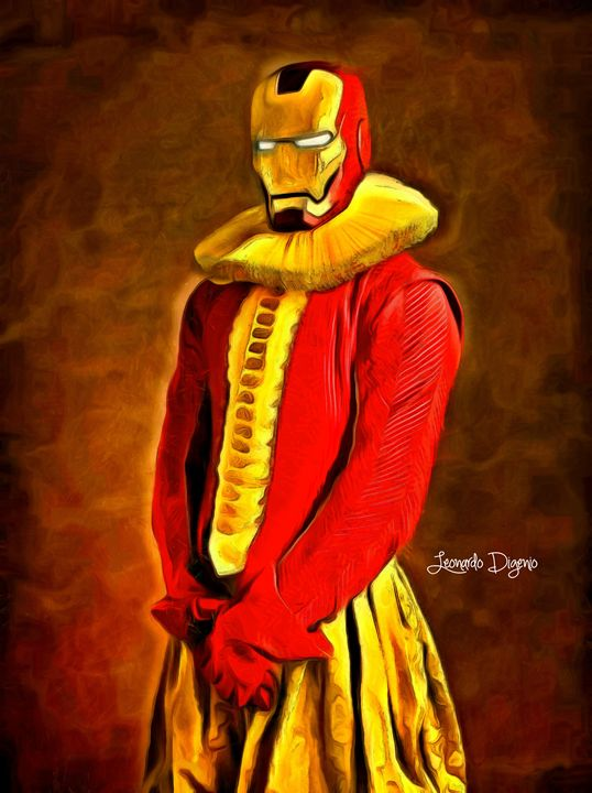 Middle Ages Iron Man - Leonardo Digenio