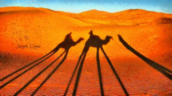 Desert Shadow - Leonardo Digenio