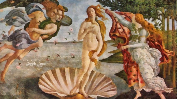 Birth Of Venus By Sandro Botticelli - Leonardo Digenio