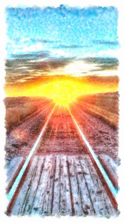 Railroad To Sun - Leonardo Digenio