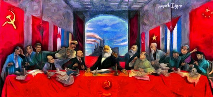 Communist Last Supper - Leonardo Digenio