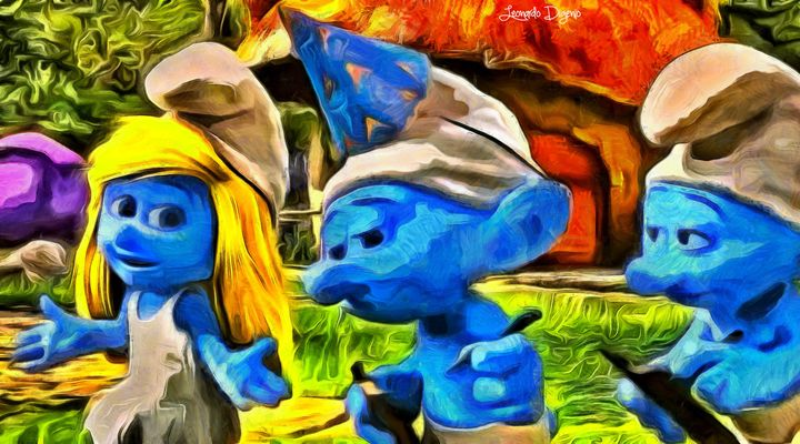 Smurfette And Friends - Leonardo Digenio