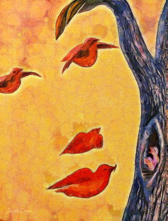 Birds And Tree - Leonardo Digenio