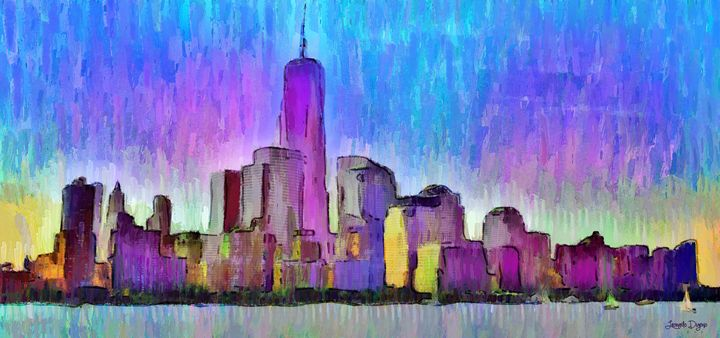 New York Skyline 2 - Leonardo Digenio