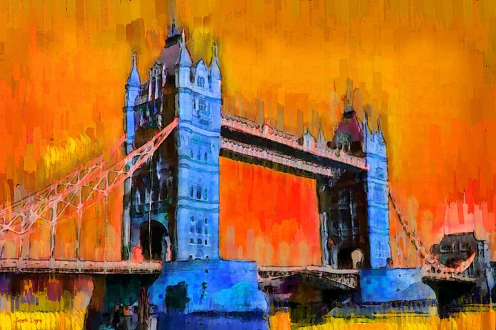 London Tower Bridge 2 - Leonardo Digenio