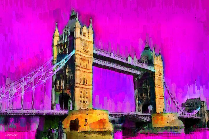 London Tower Bridge 9 - Leonardo Digenio
