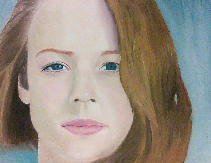 Portrait painting - Fine View