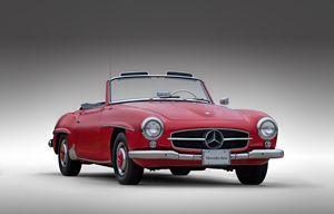Mercedes-Benz 190 SL - Douglas Pittman Photography