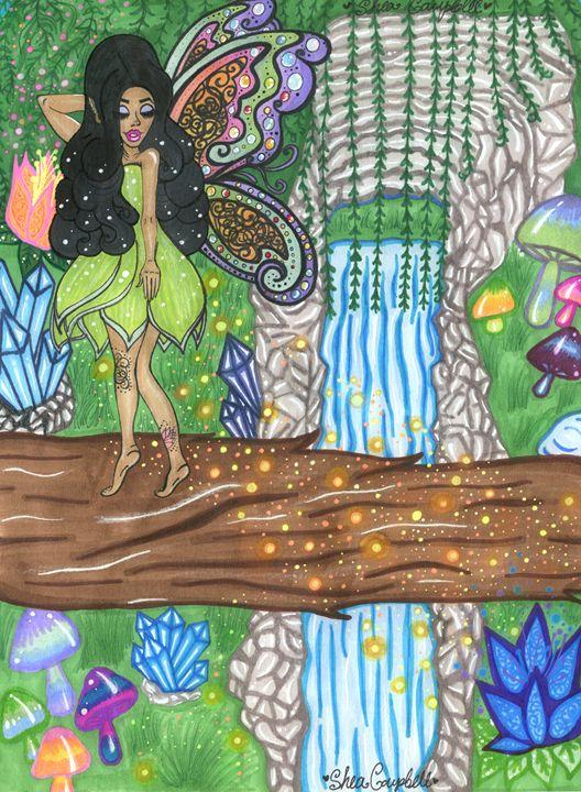 Embers glow. - Shea Campbell Art