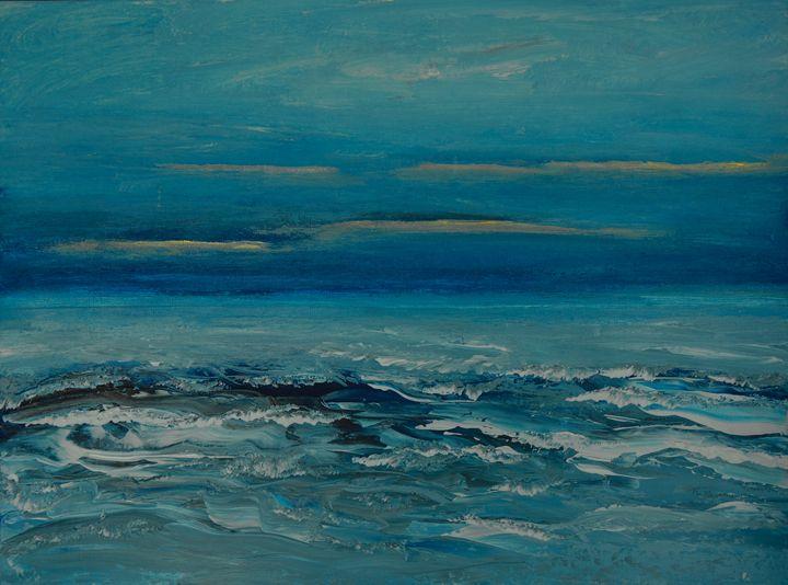 Midnight sea - Joanne Filips