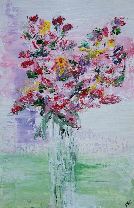 Flowers in Vase - Joanne Filips