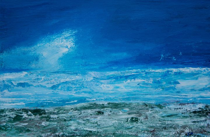 Blue Horizon - Joanne Filips