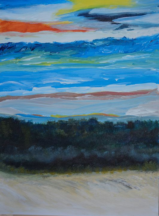 Sky of Colors - Joanne Filips