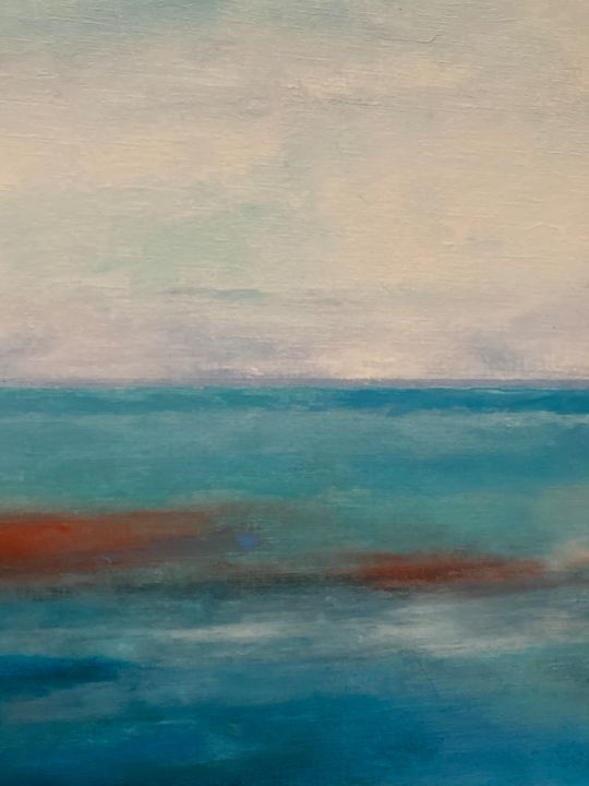 Sea of blue and red - Joanne Filips