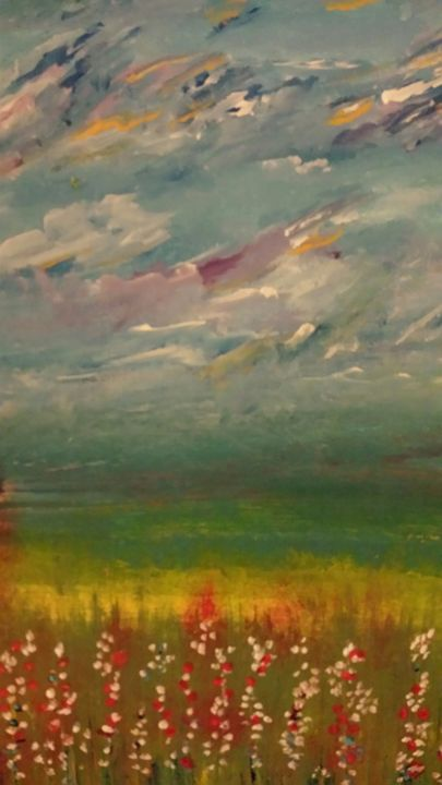 Field of colors skies - Joanne Filips