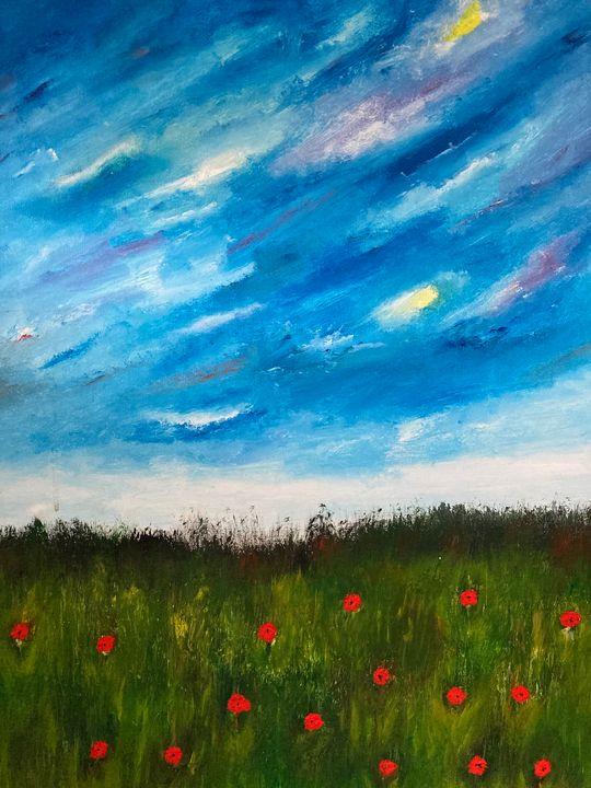 Field of red - Joanne Filips