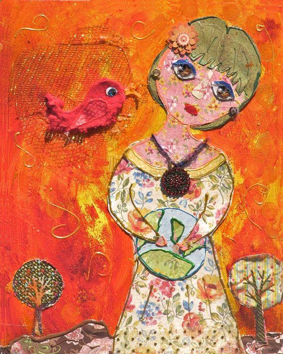 Holding Her World - Amy Oestreicher - #LoveMyDetour