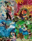 Original Mixed Media Canvas
