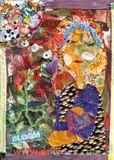 Mixed Media Acrylic Painting Framed