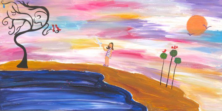 Beach Walk - Amy Oestreicher - #LoveMyDetour