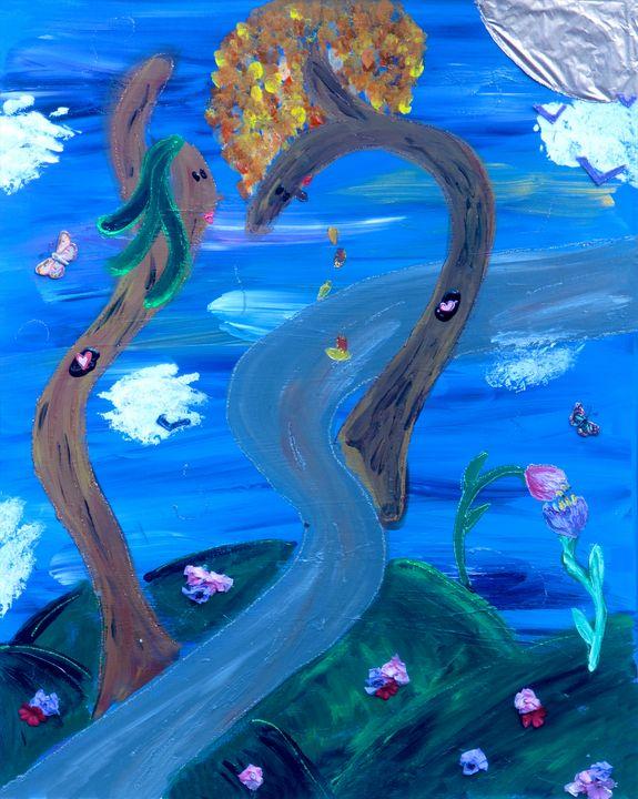 Blushing Tree - Amy Oestreicher - #LoveMyDetour