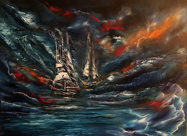 Ghost ships in the Storm - Khrystyna Kozyuk