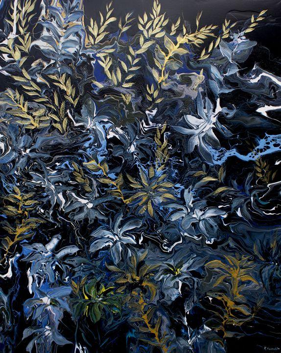 Gold flowers of Pompeii - Khrystyna Kozyuk