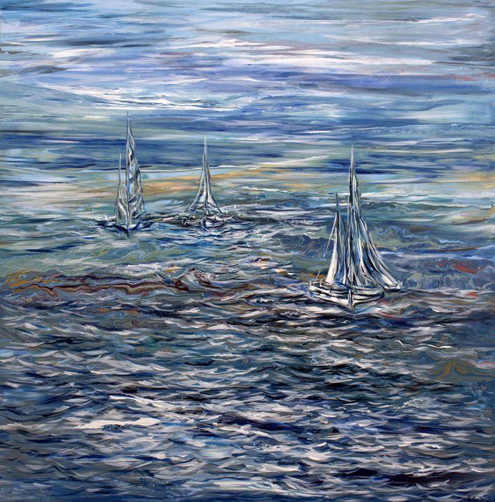 Sailing in the Sea - Khrystyna Kozyuk