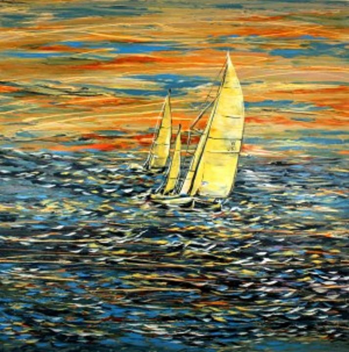 Summer Sunset - Khrystyna Kozyuk