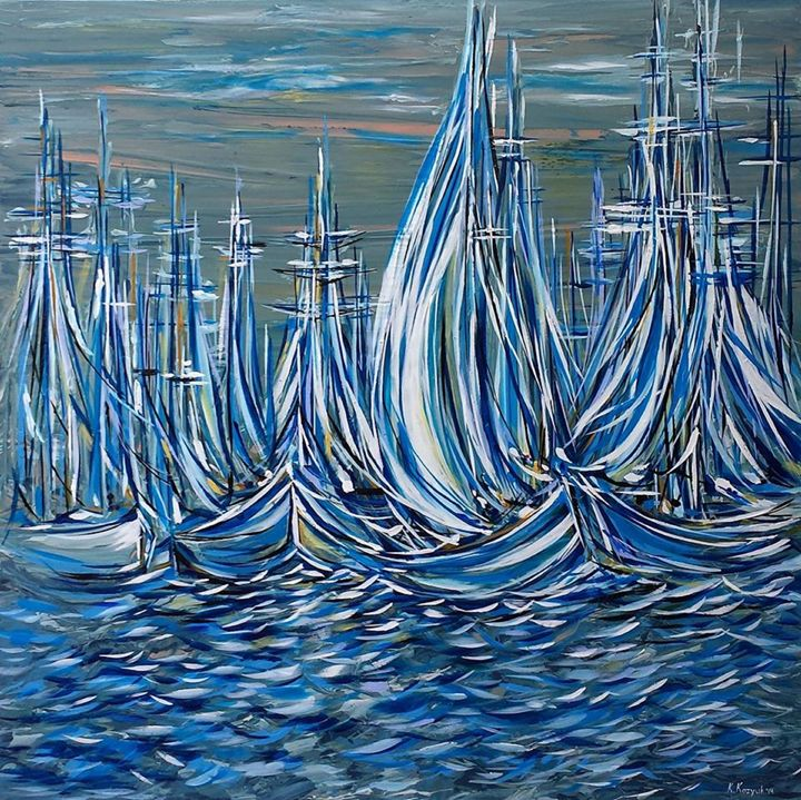 Ready to Sail - Khrystyna Kozyuk