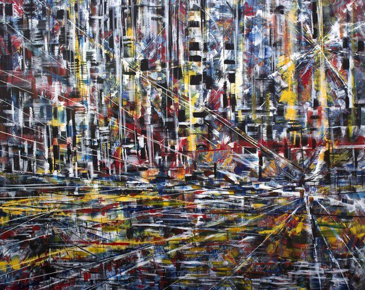 Night city - Khrystyna Kozyuk