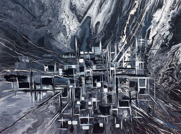 Abstract city - Khrystyna Kozyuk
