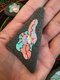 Original painted stones