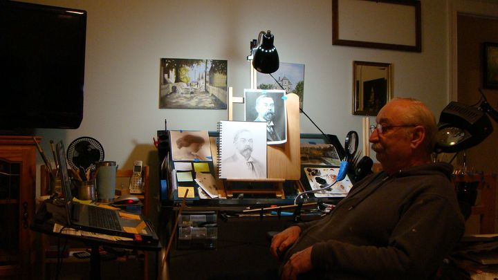 Drawing Sargent - Paul McCall