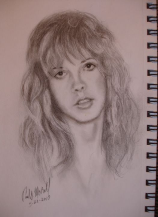 Another Stevie Drawing - Paul McCall