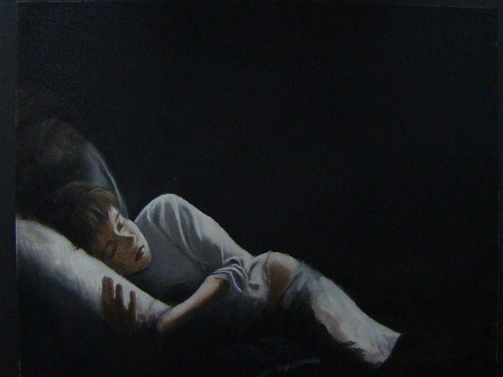 Girl Resting - Paul McCall