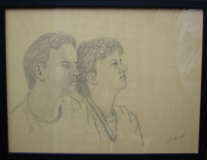 Two fellow students - Paul McCall
