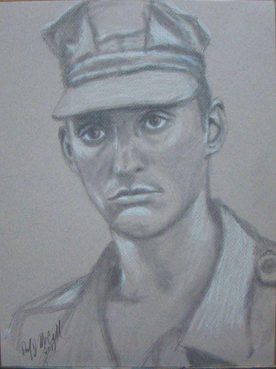 US Marine, Military Police - Paul McCall