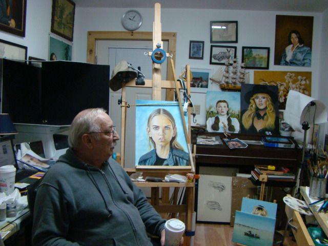In the studio-1 - Paul McCall