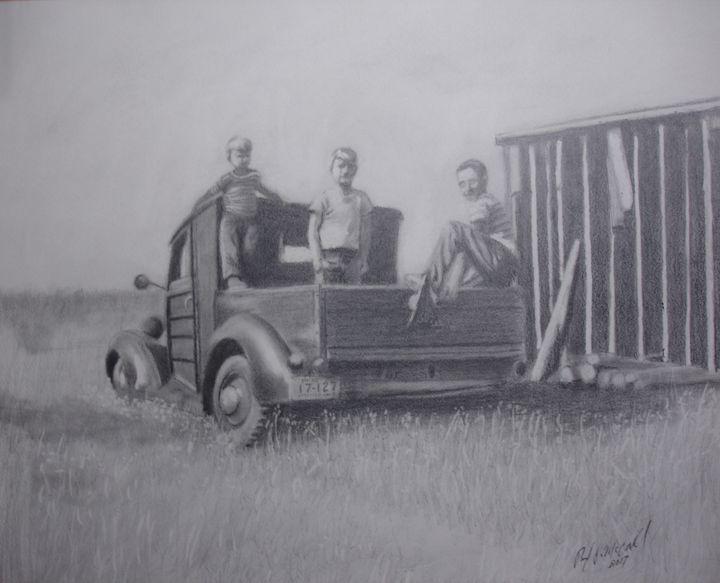 Boys on The Farm - Paul McCall