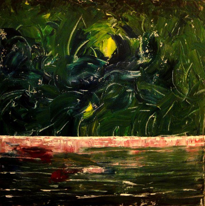 Green Fields - Art by Donna Mann