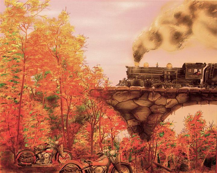 Fall Run, By Mark Brown - Classic360arts
