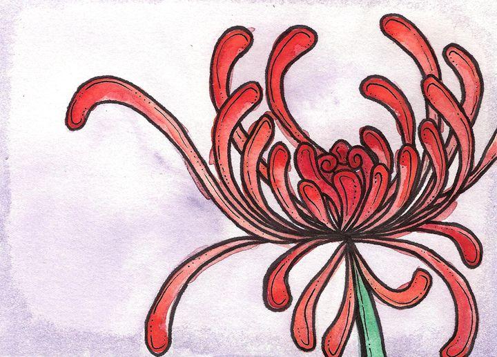 Red Flower - Avril Joy